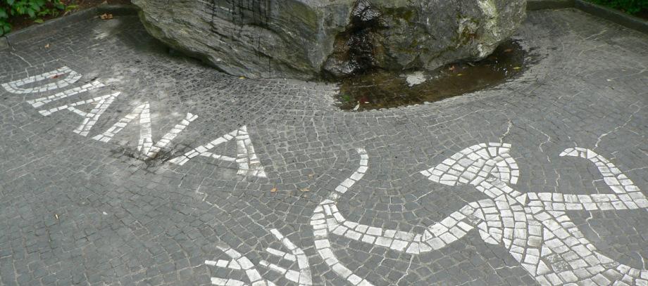 Mosaik Diana, Insel Mainau